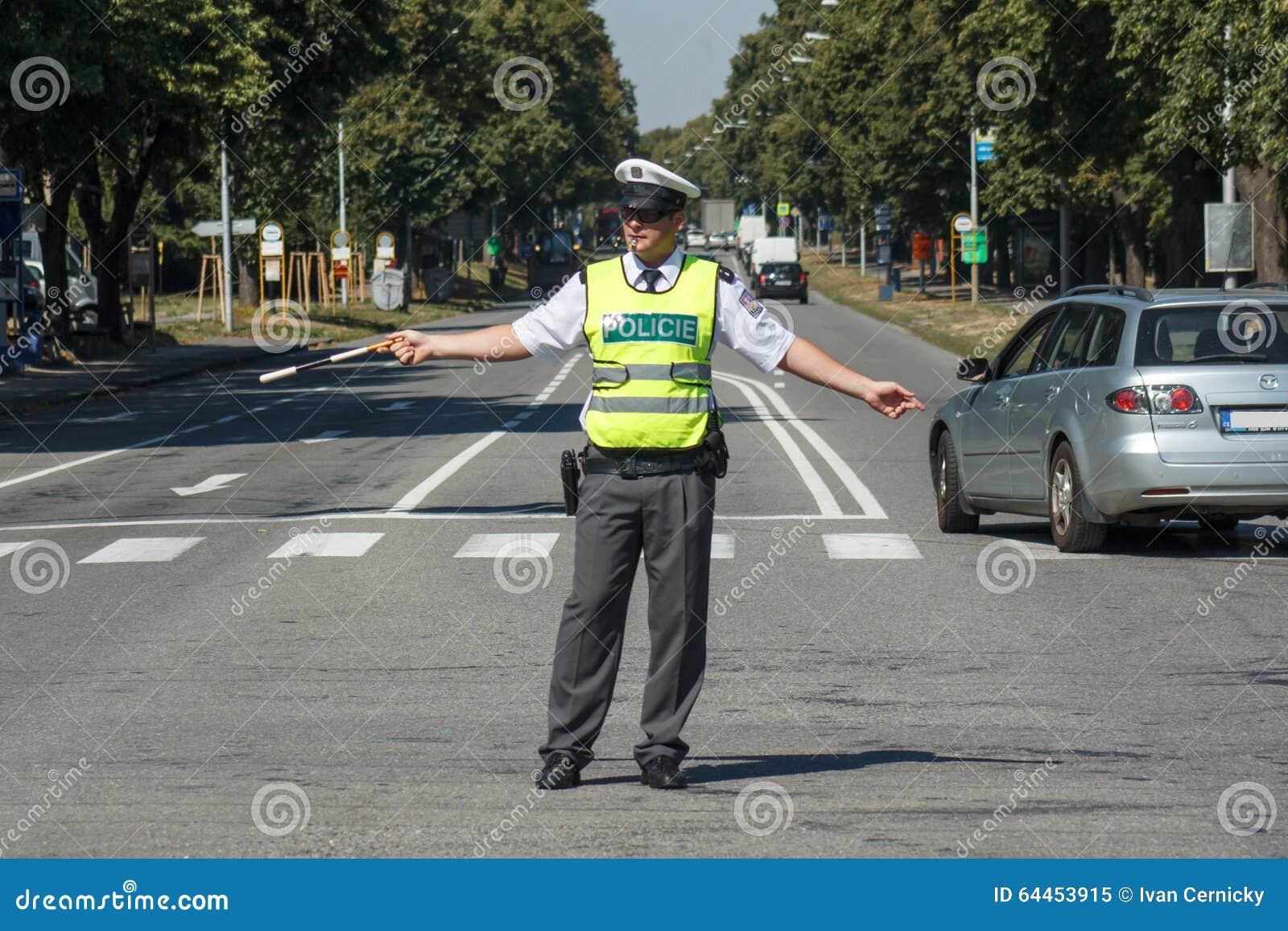 Verkehrspolizei redaktionelles bild. Bild von leben, blocken - 64453915