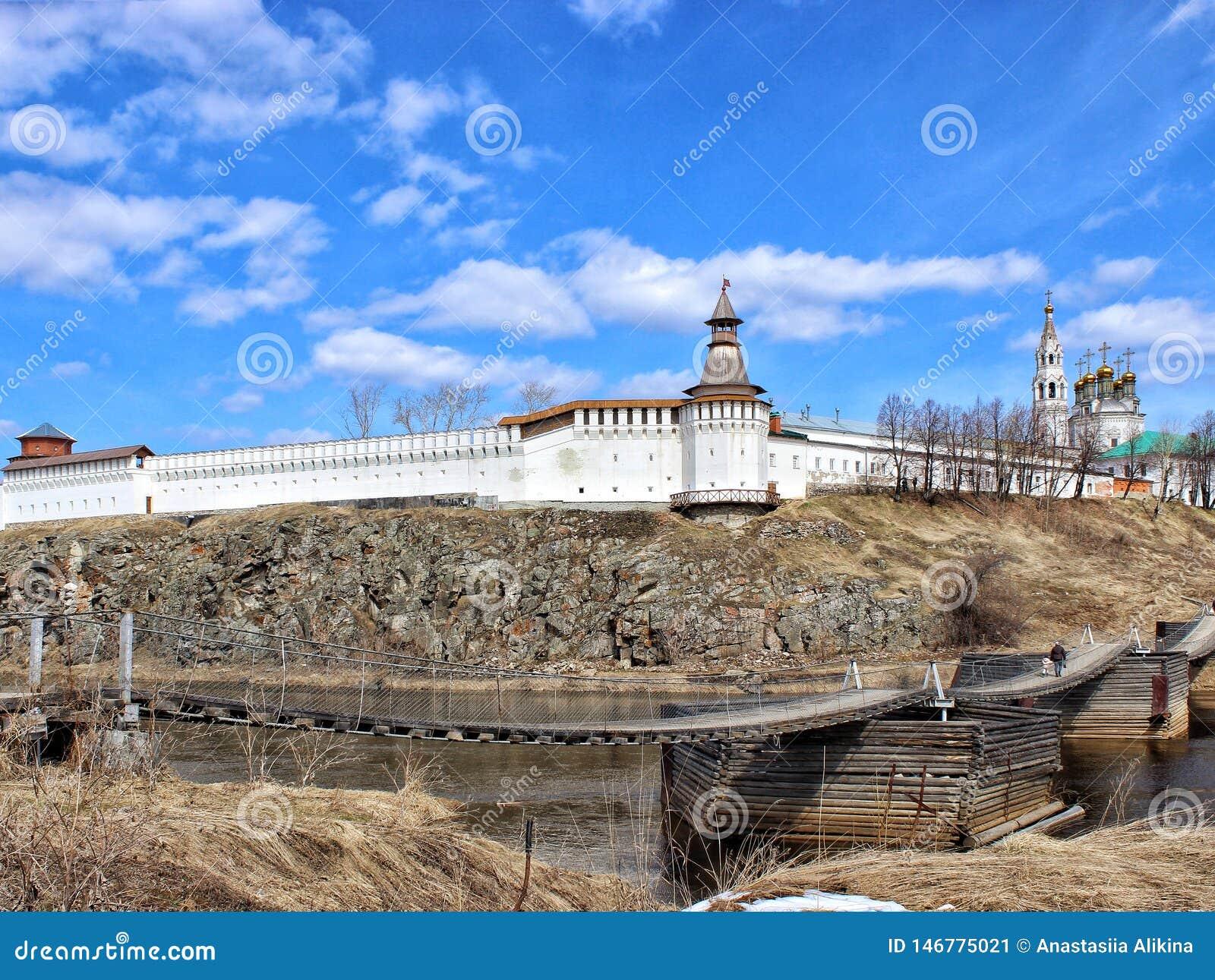 Verkhoturye kamień Kremlin Ural sprawy duchowe centrum Sverdlovsk region Rosja