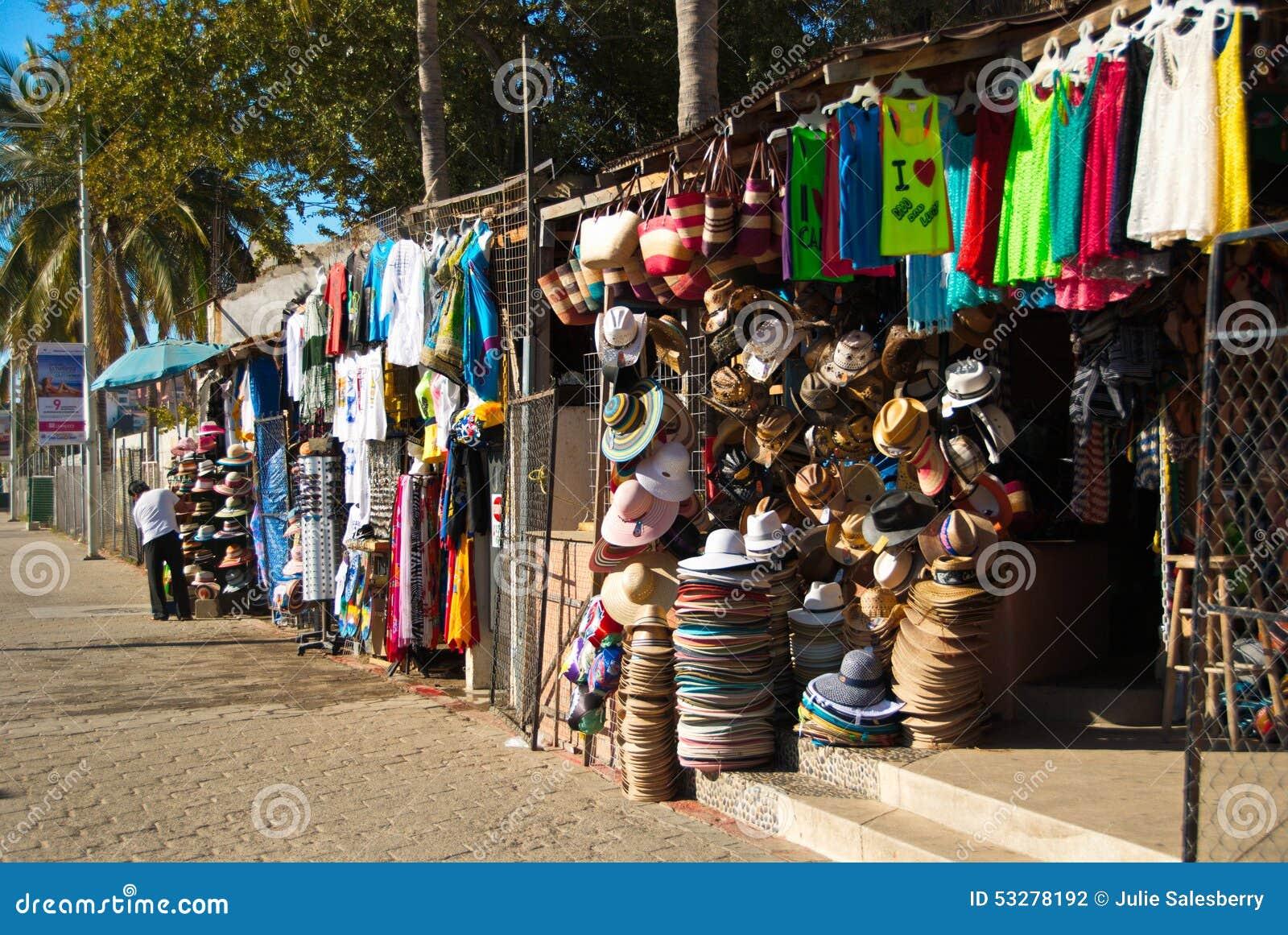 Verkopers Cabo Van de binnenstad San Lucas