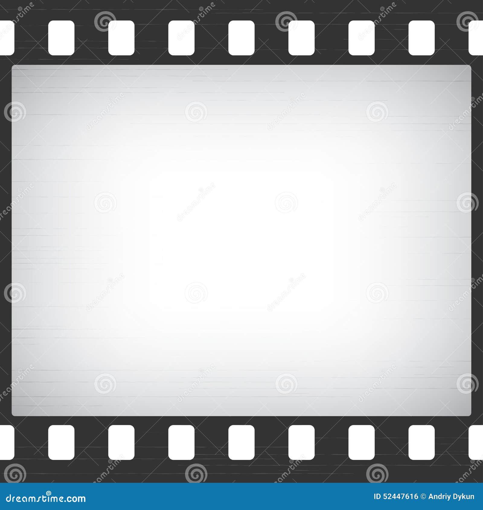 Verkratzter Alter Film-Streifen-Rahmen Vektor Abbildung ...