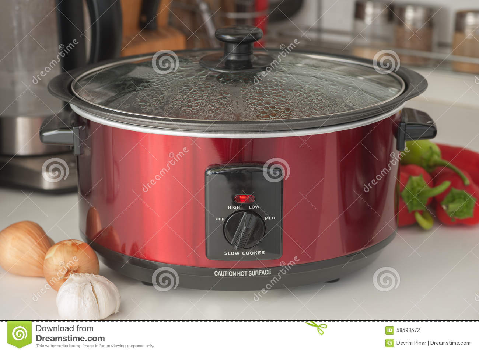 Verlangsamen Sie Kocher