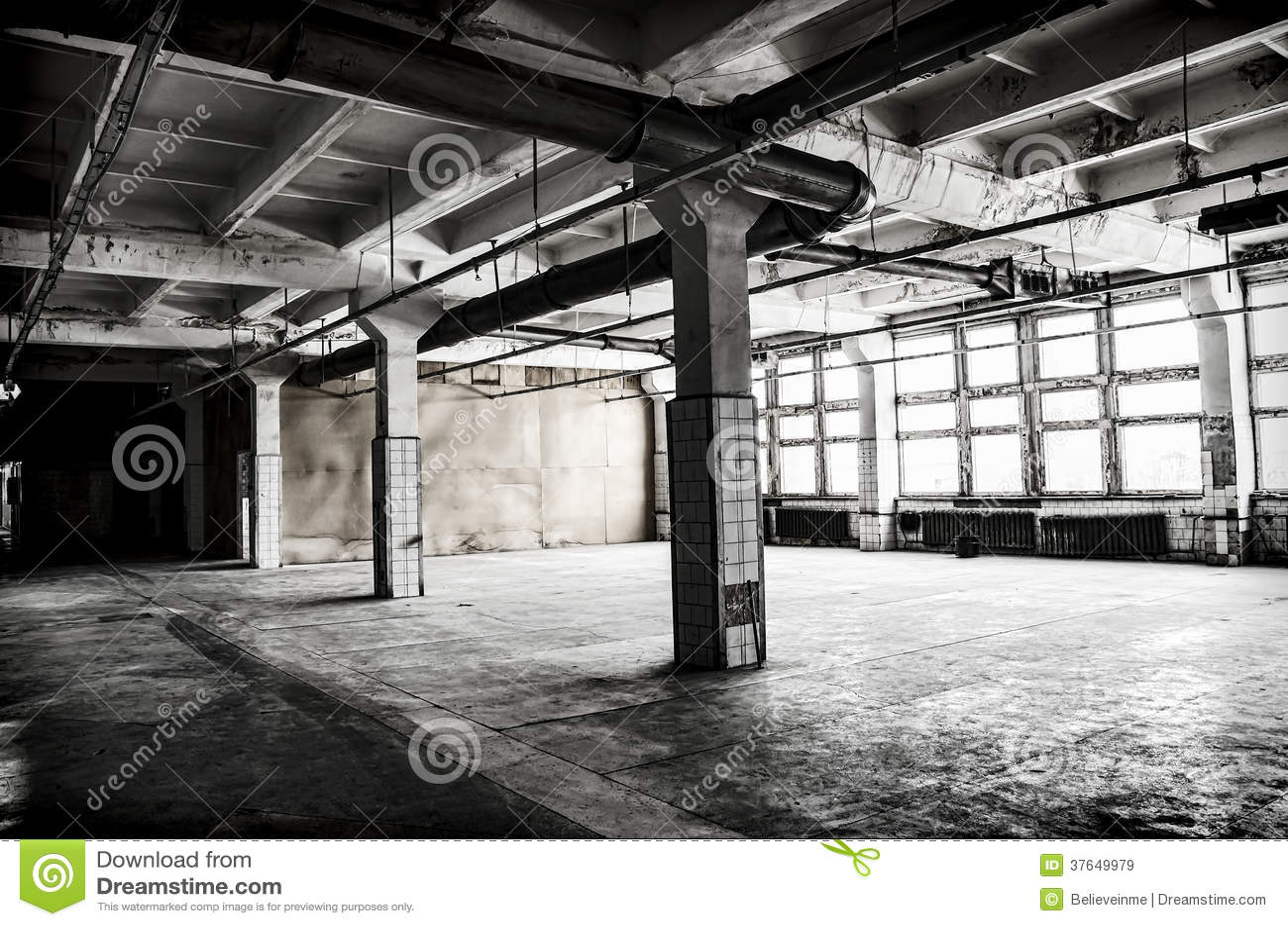 Verlassene Fabrikhalle