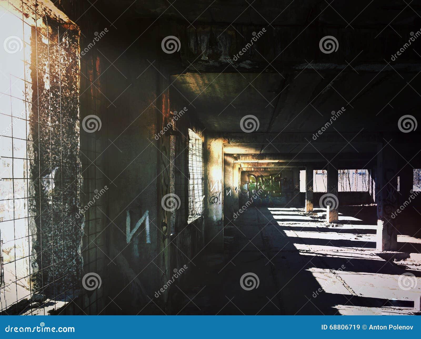 Fußboden Im Krankenhaus ~ Verlassener krankenhausboden stockbild bild von fußboden