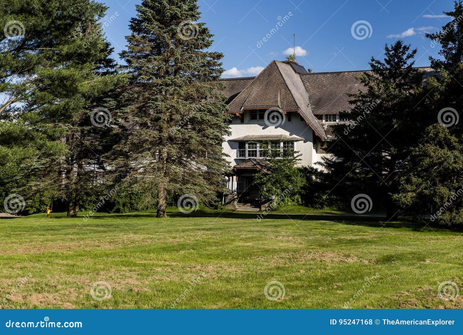 Verlassenes Krankenhaus/Sanatorium - Catskill-Berge, New York