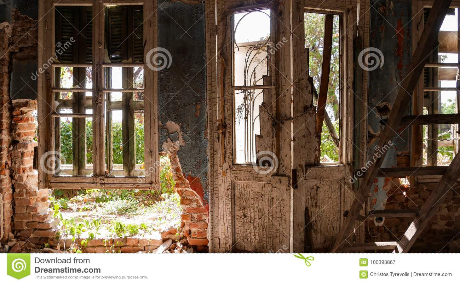 Verlassenes Landhaus - Griechenland