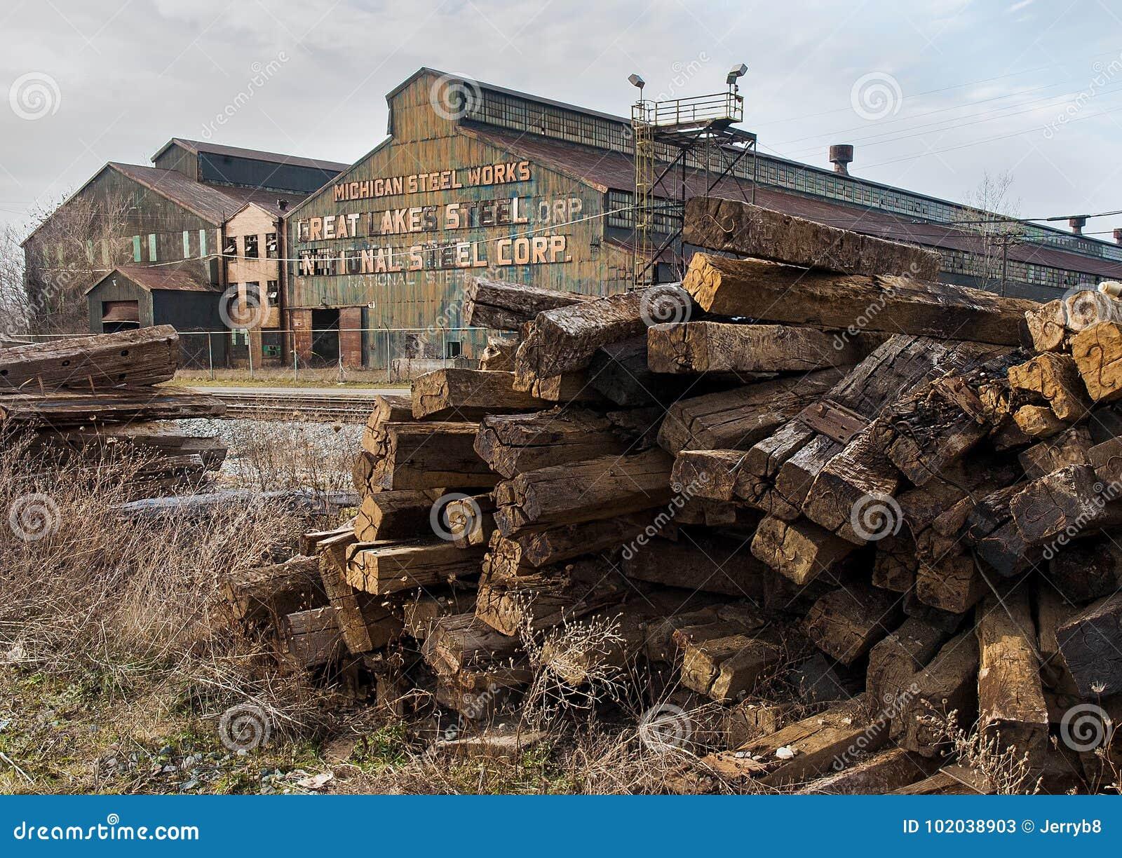 Verlassenes Steelmill