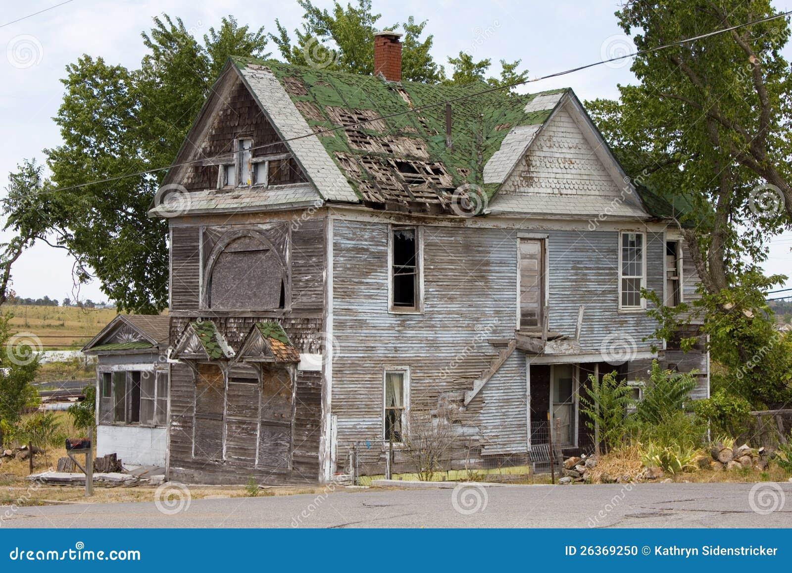 Verlassenes viktorianisches Bordello-Haus