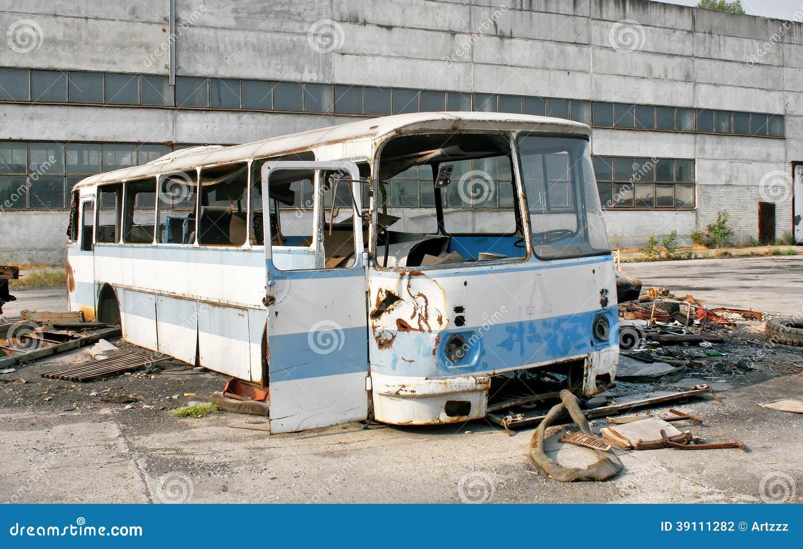 Verlaten bus