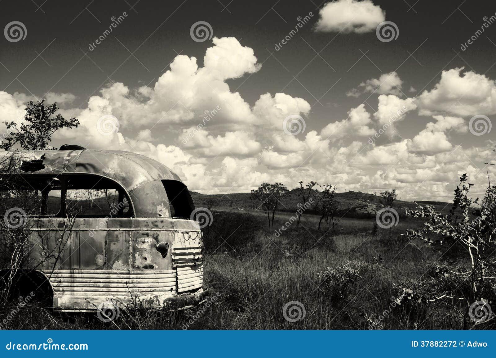 Verlaten bus - Australië