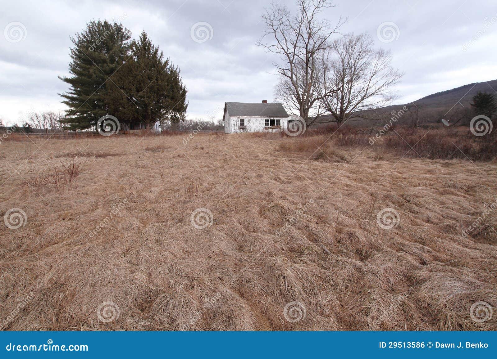 Verlaten Landbouwbedrijf