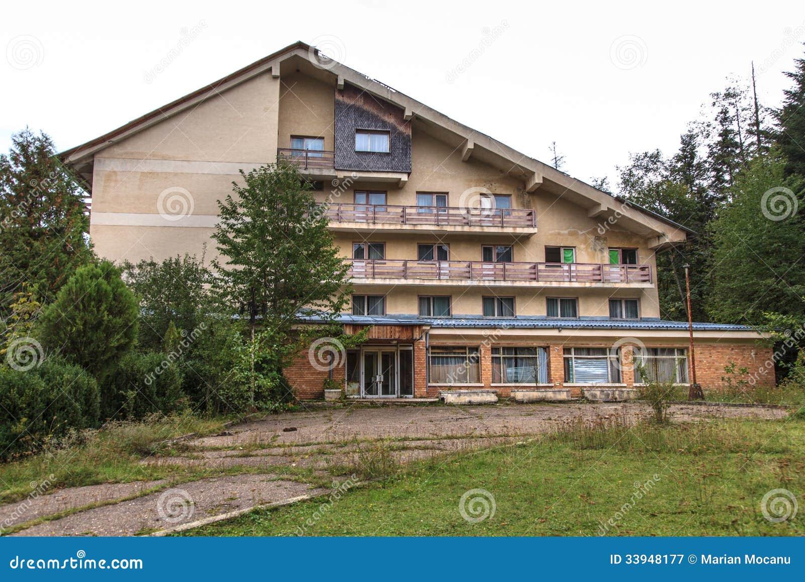 Verlaten motel