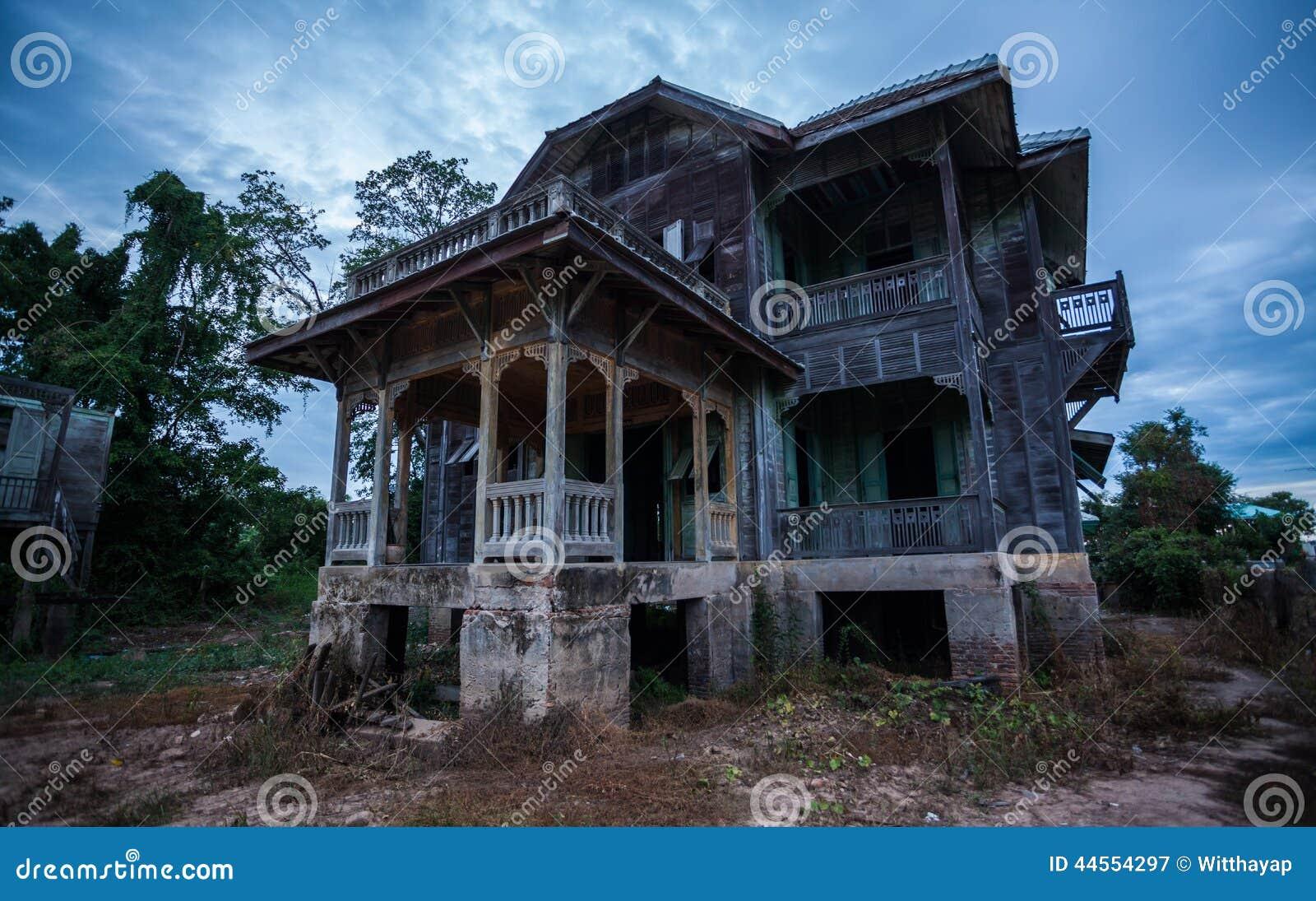 Verlaten Oud Huis