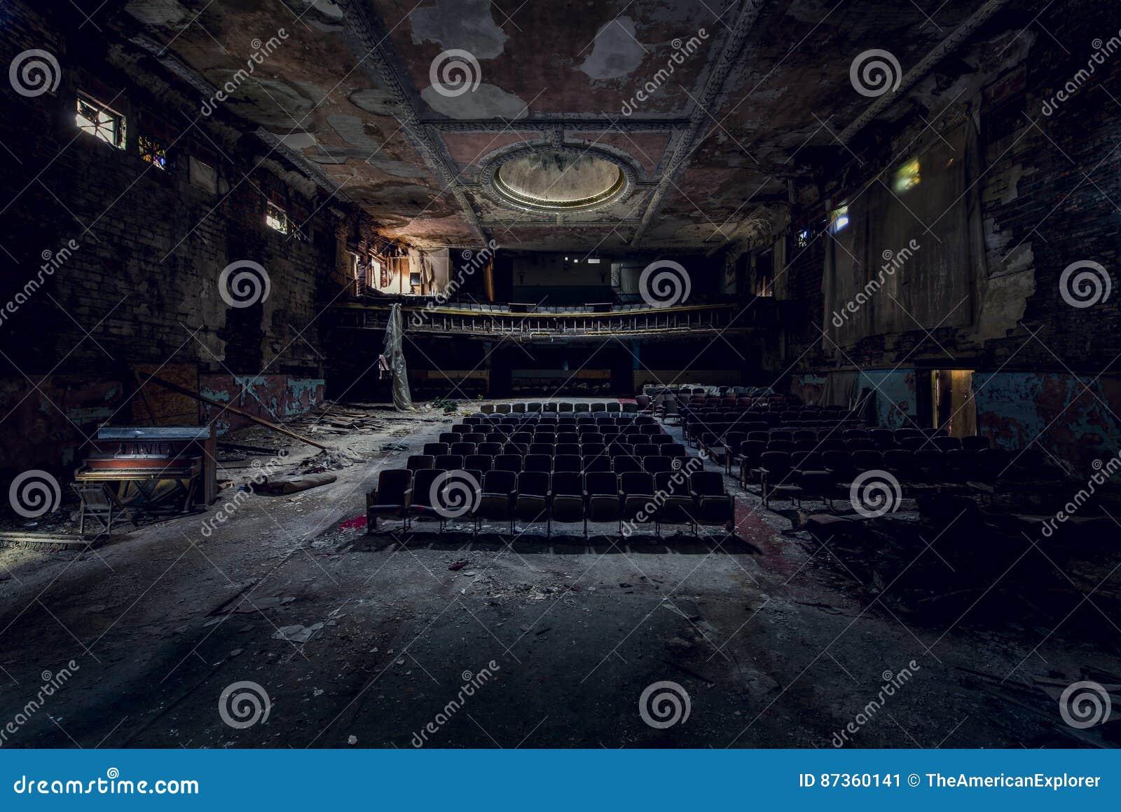Verlaten Theater - Buffels, New York