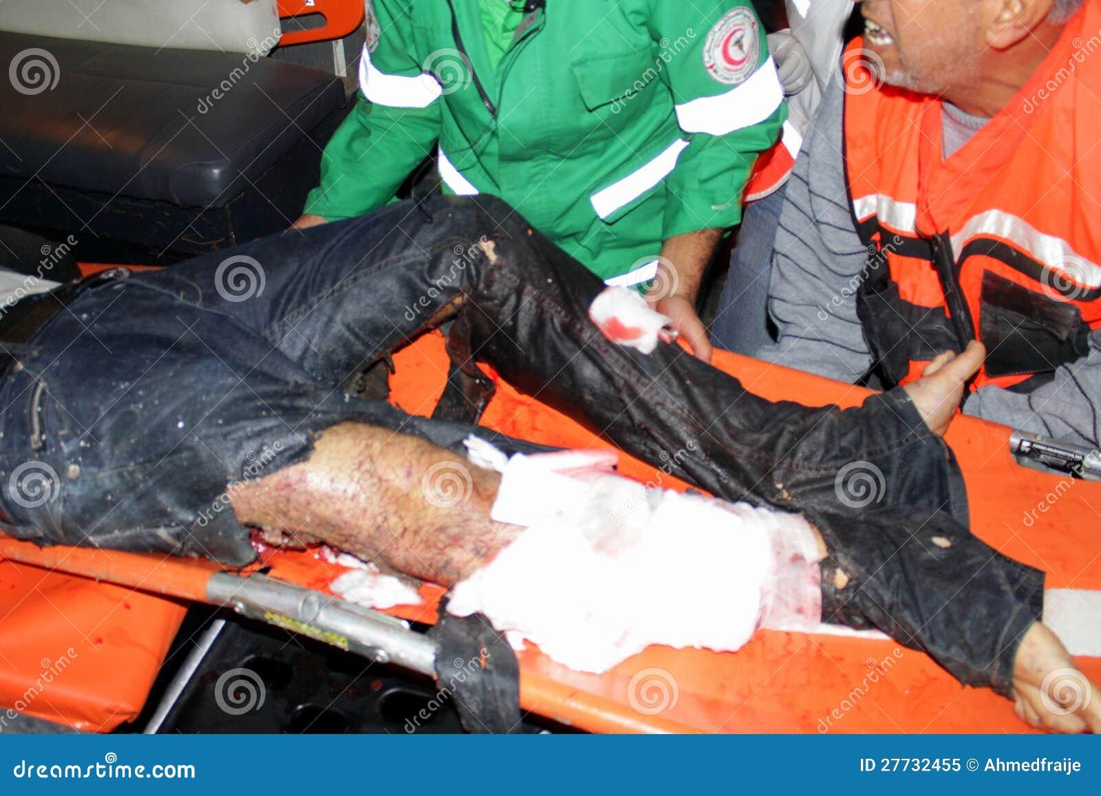 Verletzungen in Gaza