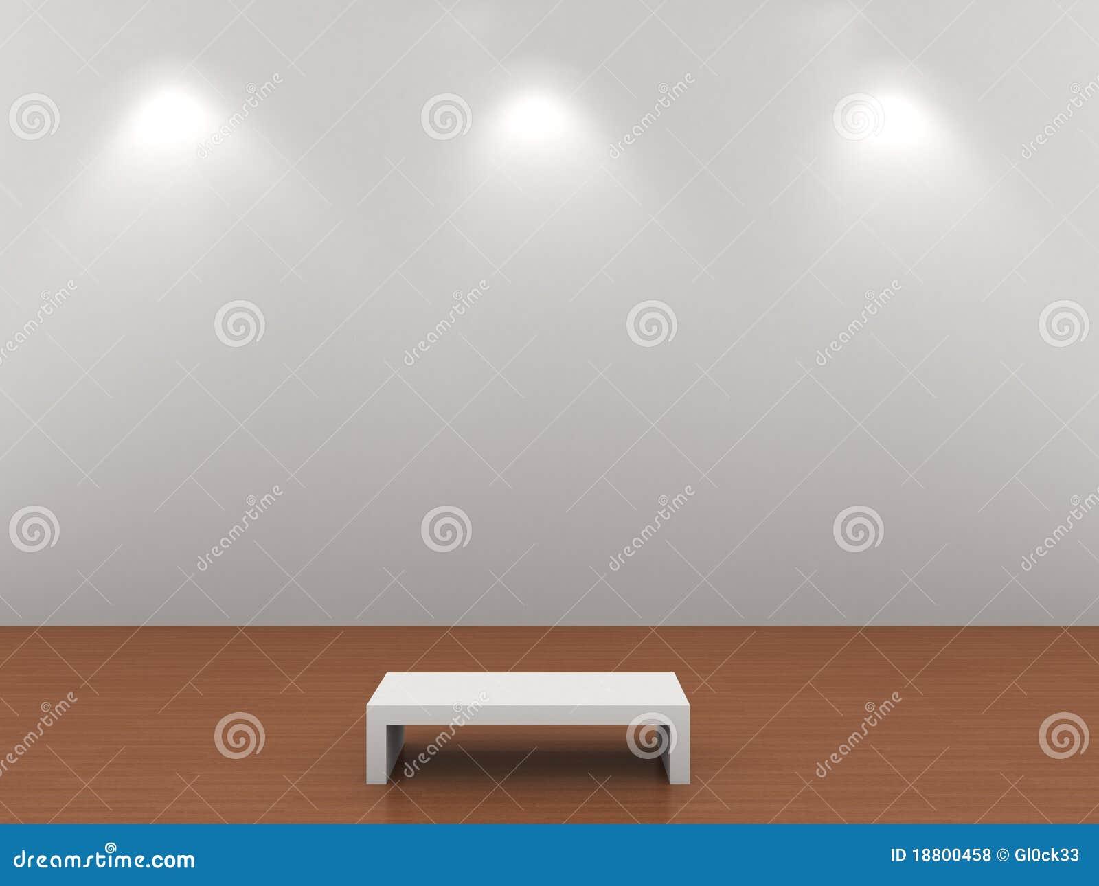 Verlichte grijze muur royalty vrije stock foto 39 s afbeelding 18800458 for Grijze muur