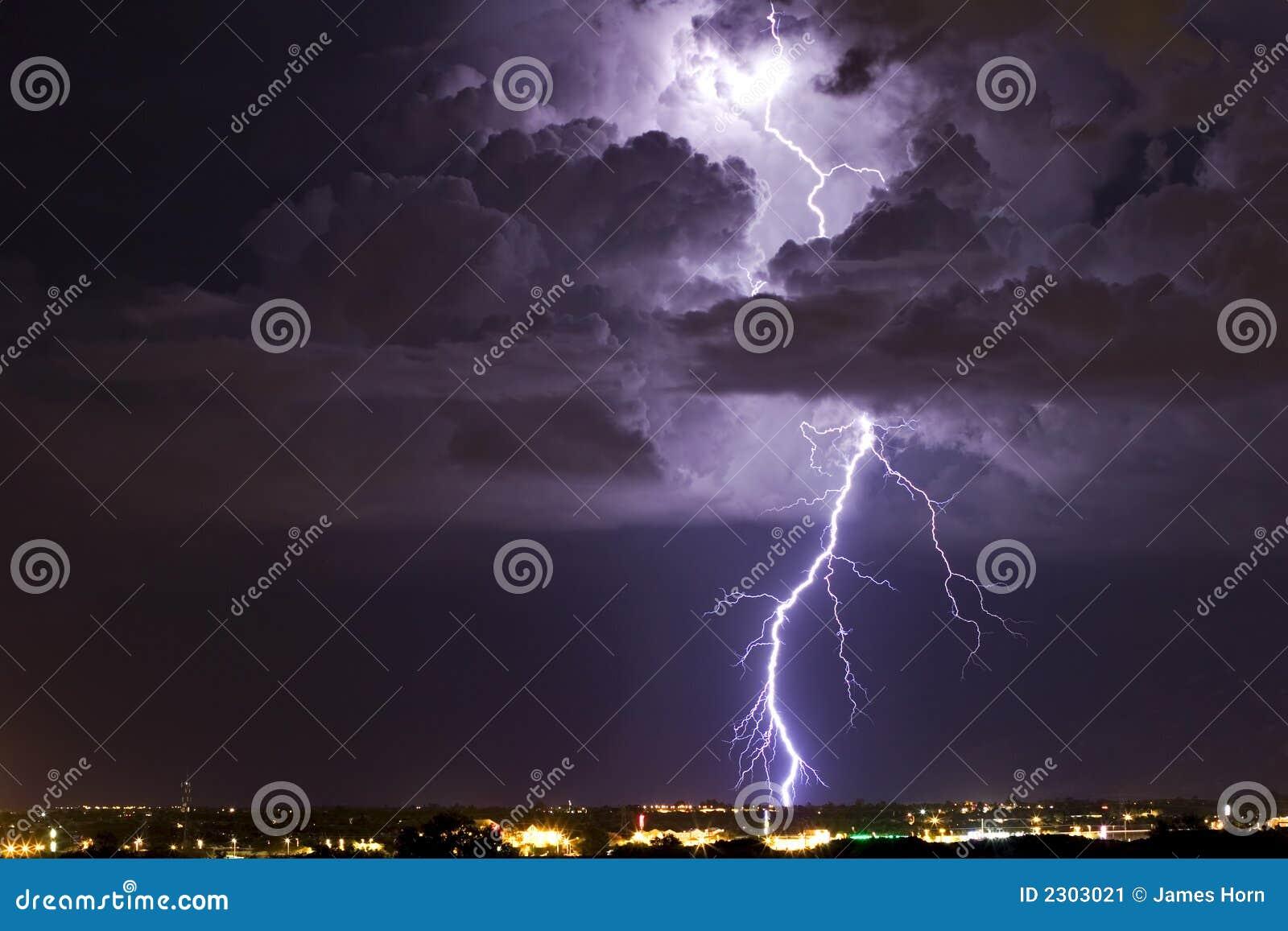 Verlichte Thunderhead