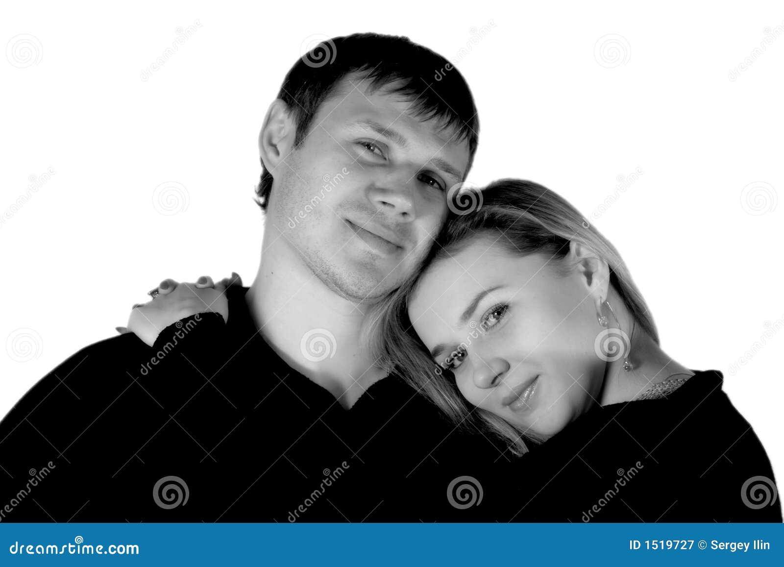 Verliebter Mann Und Die Frau Stockbild Bild Von Hintergrund