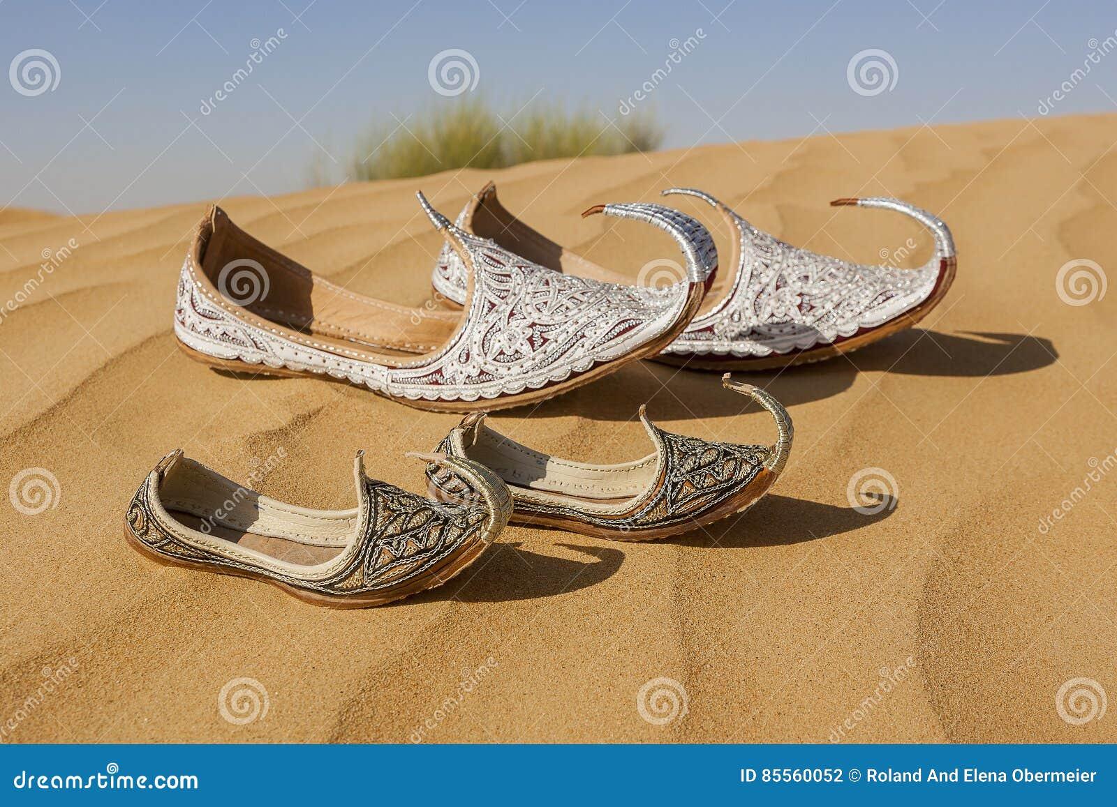Verlorene Schuhe Aladins und Sindbads