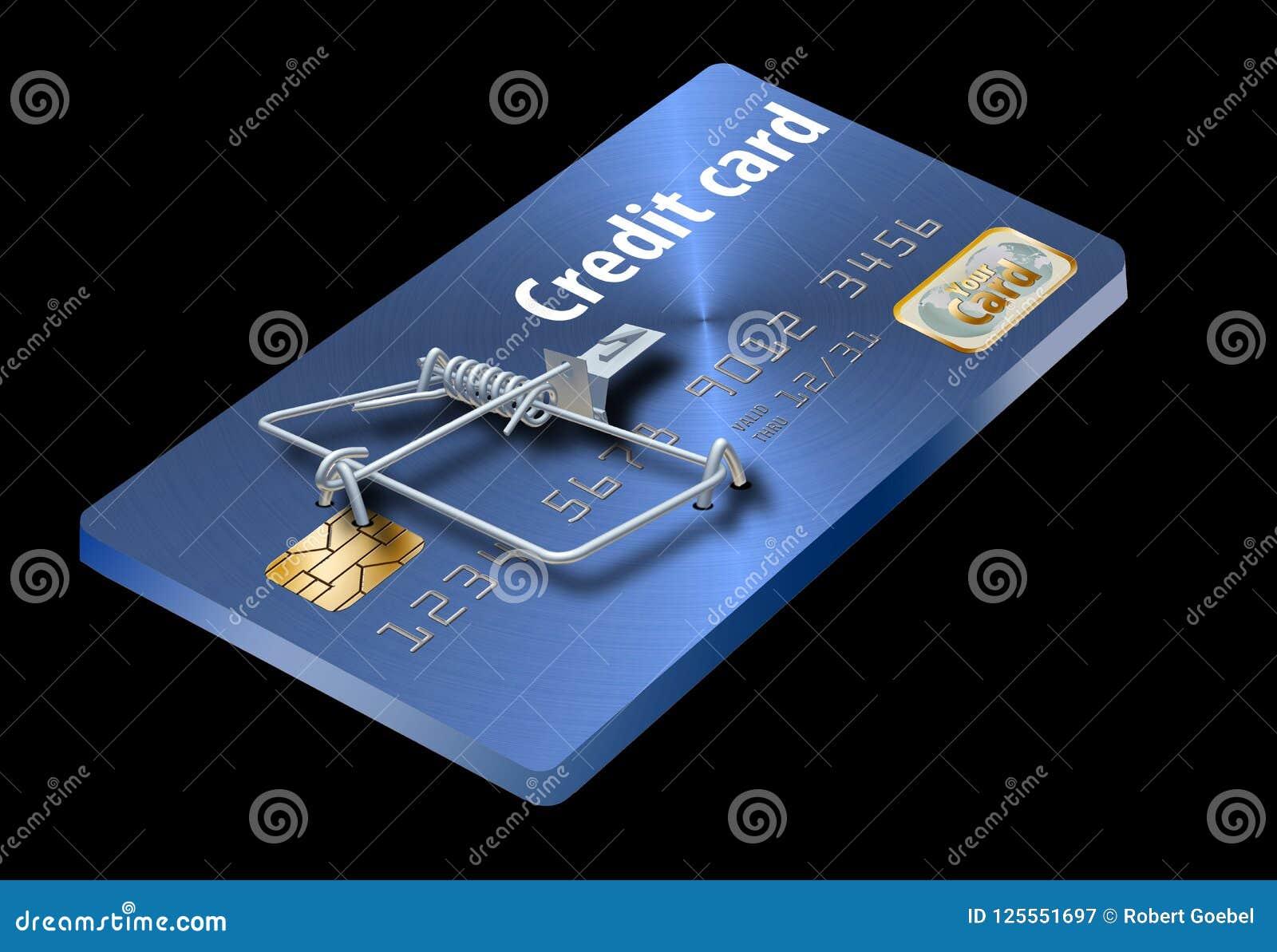 Vermijd creditcardvallen, als dit die als een creditcard omgezet in een muizeval kijkt