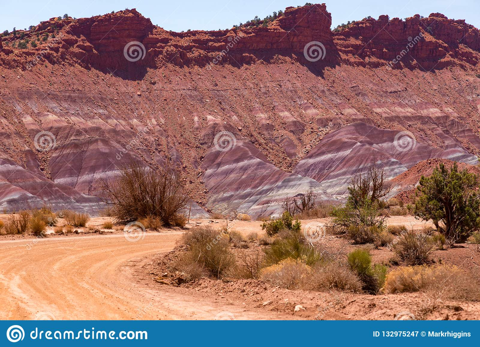 Coyote Buttes In The Vermilion Cliffs Arizona Stock Photo