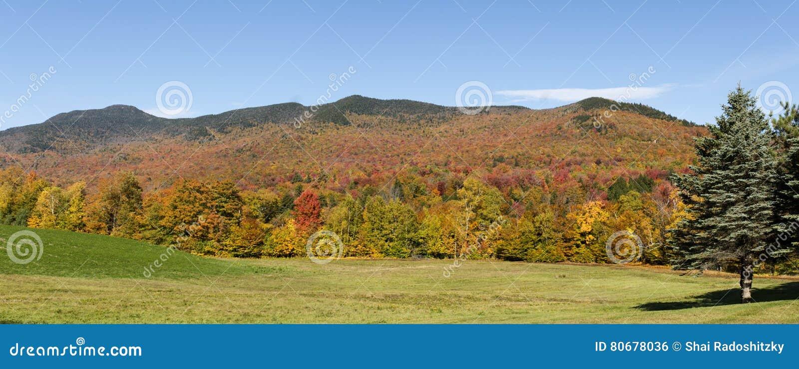 Vermont Autumn Panorama