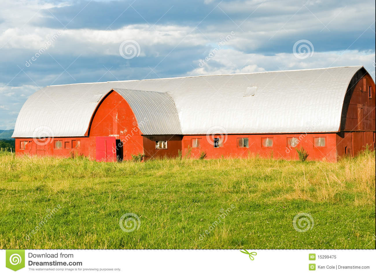 Vermont dairy barn stock image  Image of building, outdoor - 15299475
