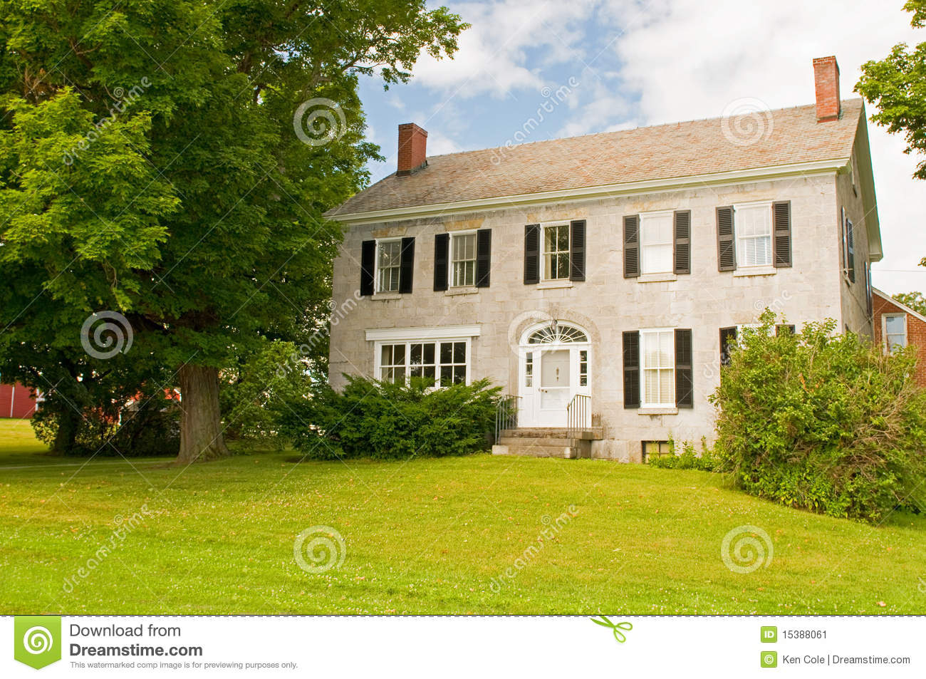 Vermont farmhouse stock image image 15388061 for Vermont farmhouse plans