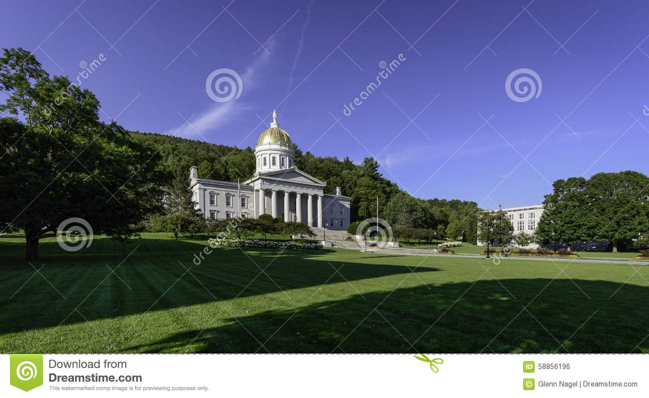 Vermont State House Stock Photo Image 58856196
