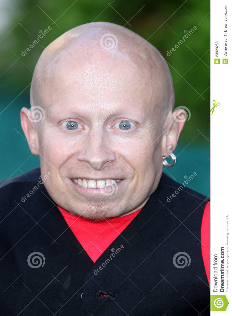 verne troyer and ranae shrider tape