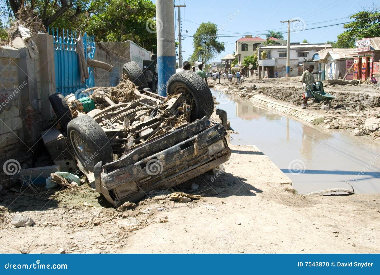 Vernietigde Auto