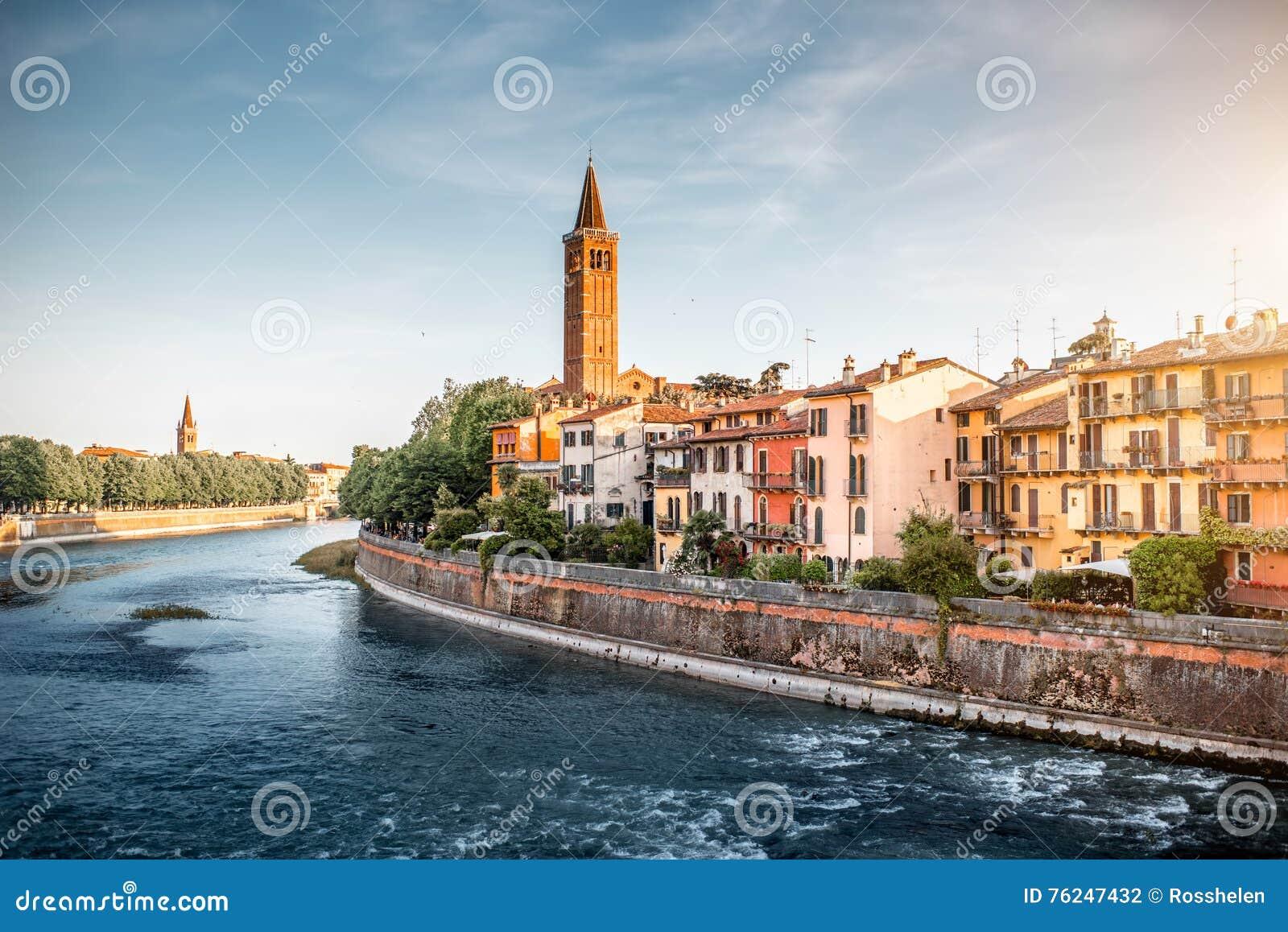 Verona cityscape view