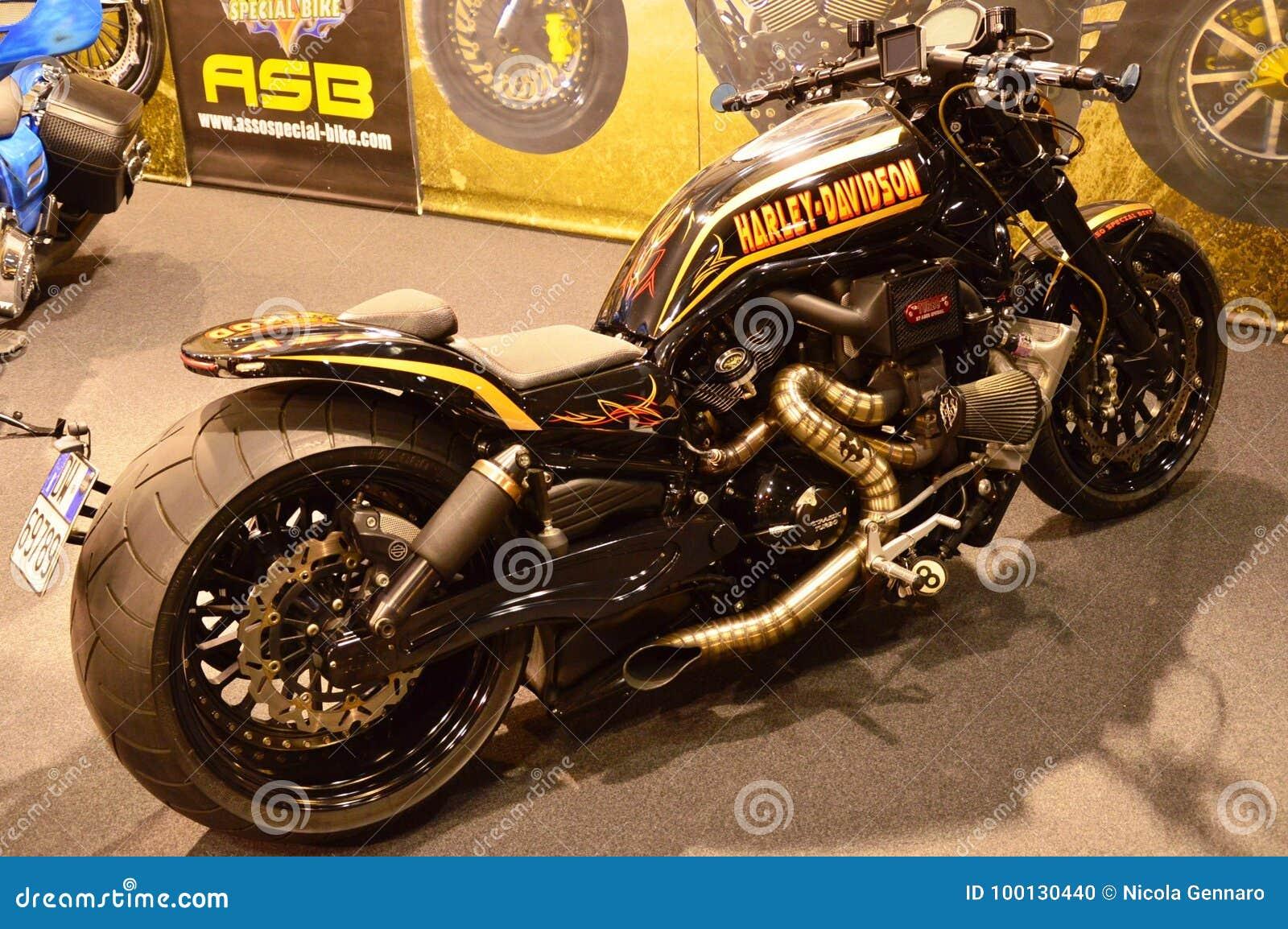 Motor bike expo, motorbike Harley Davidson