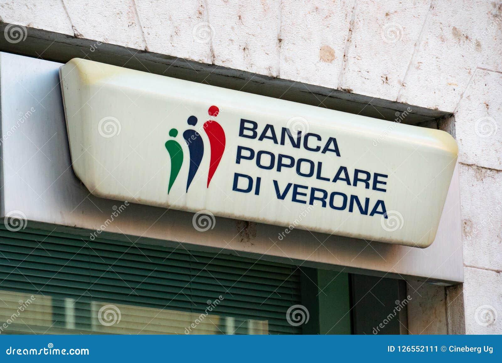 Banca Popolare Di Verona Branch Editorial Photo - Image of ...