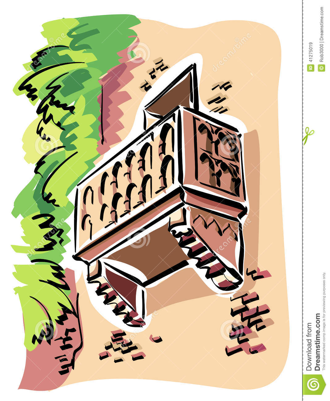 Romeo and juliet cartoon characters balcony for Balcony cartoon