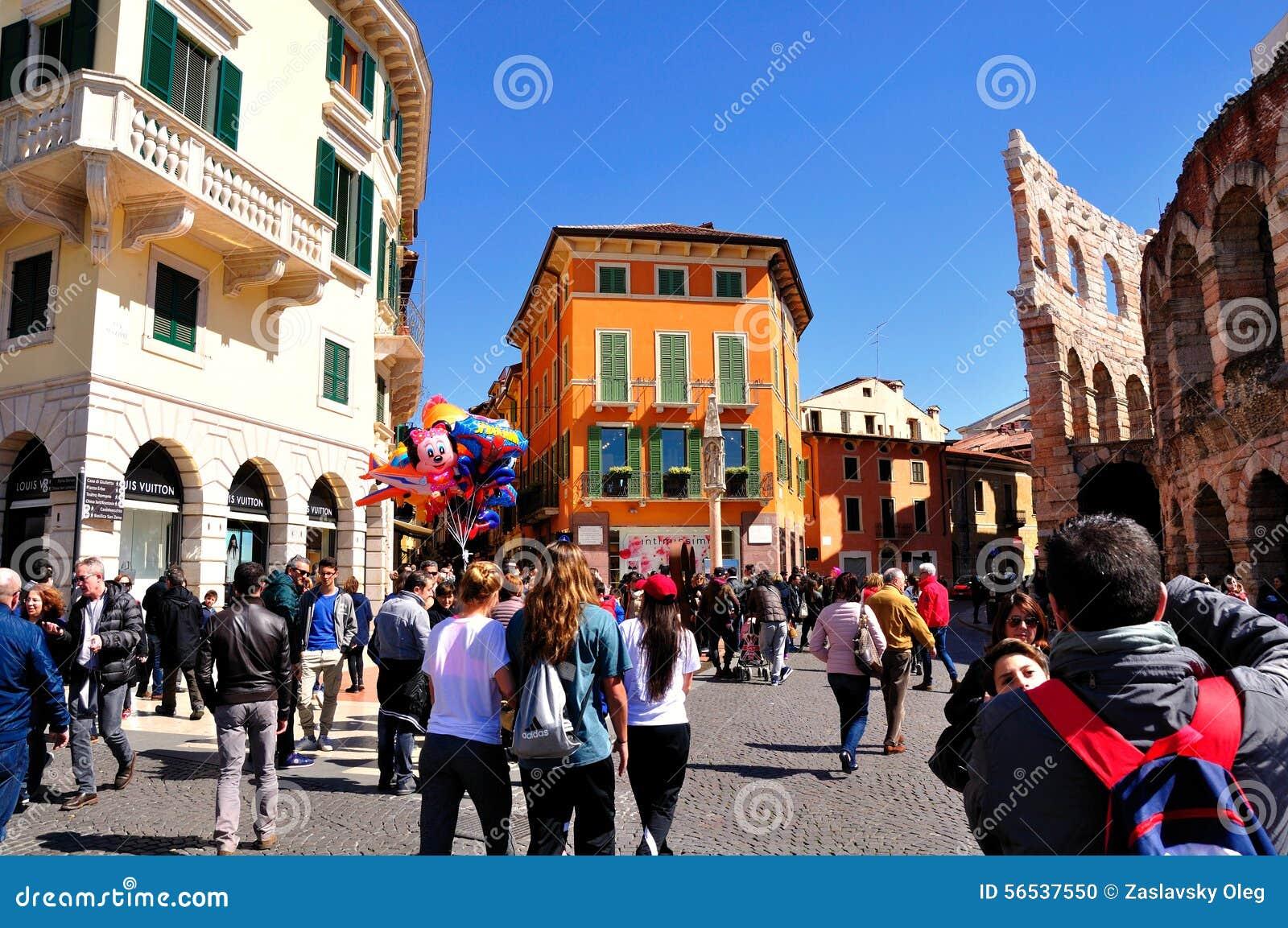Verona town square.