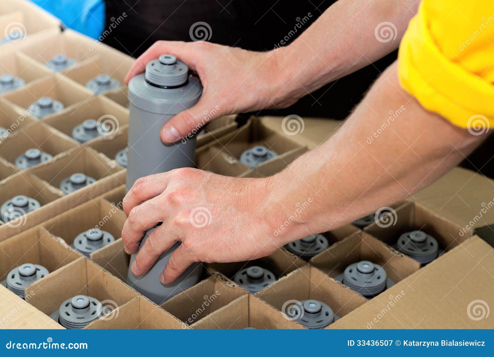 Verpackungswasserfilter