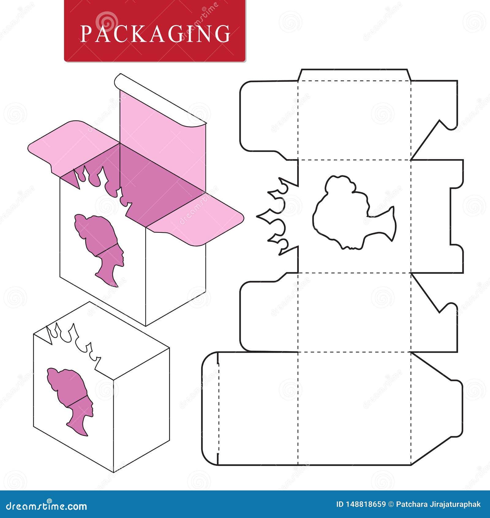 Verpakking voor schoonheidsmiddel of skincare product