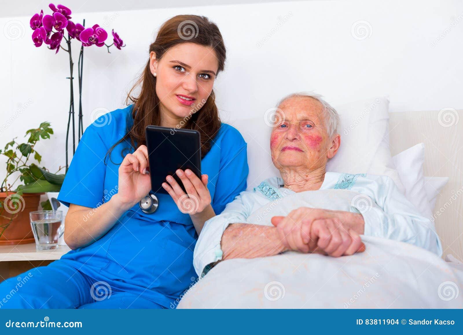 Verpleeghuistechnologie