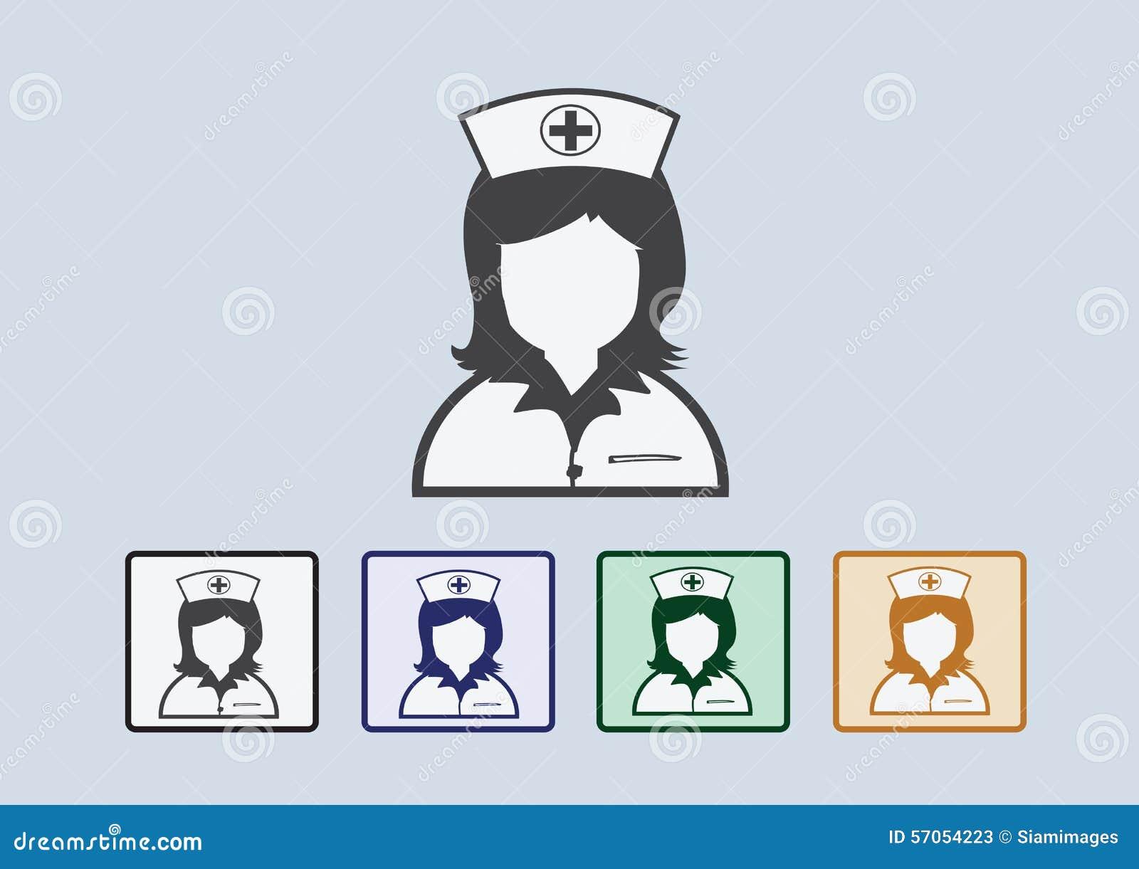 Verpleegsterspictogrammen