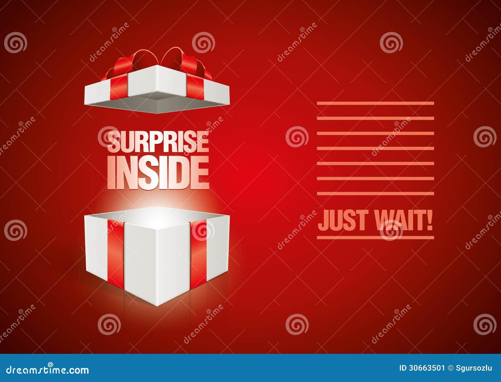 Verrassing binnen