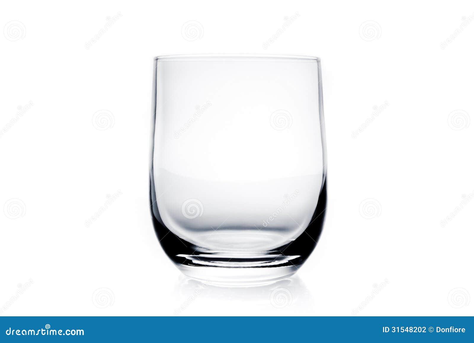 verre d 39 eau vide photo stock image du fragile l gant 31548202. Black Bedroom Furniture Sets. Home Design Ideas