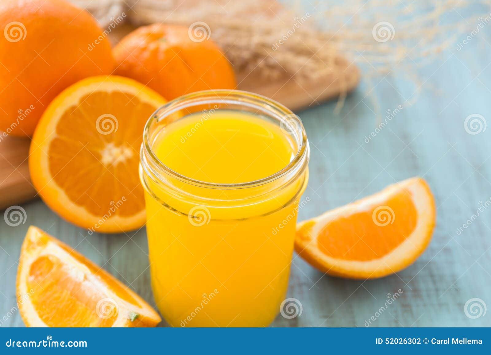Verre de Juice Breakfast Drink orange frais