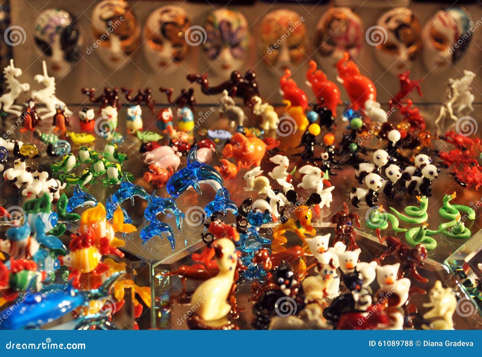 Verre de murano venise italie photo stock image 61089788 - Boutique verre de murano ...