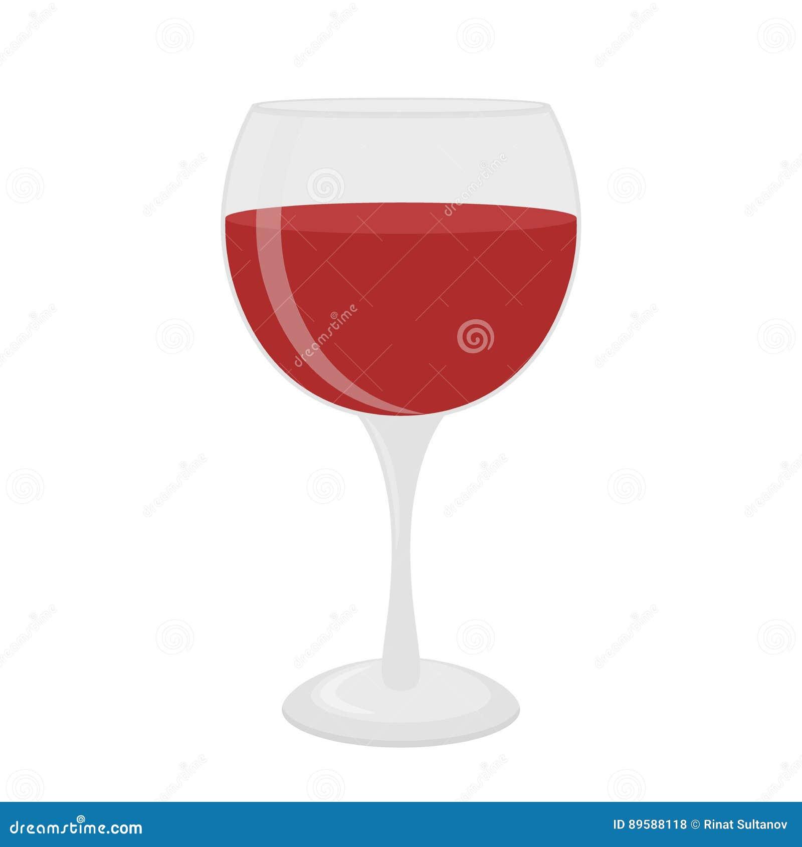 Verre pour le vin, merlot, cabernet, sangria Verrerie de cocktail Style plat