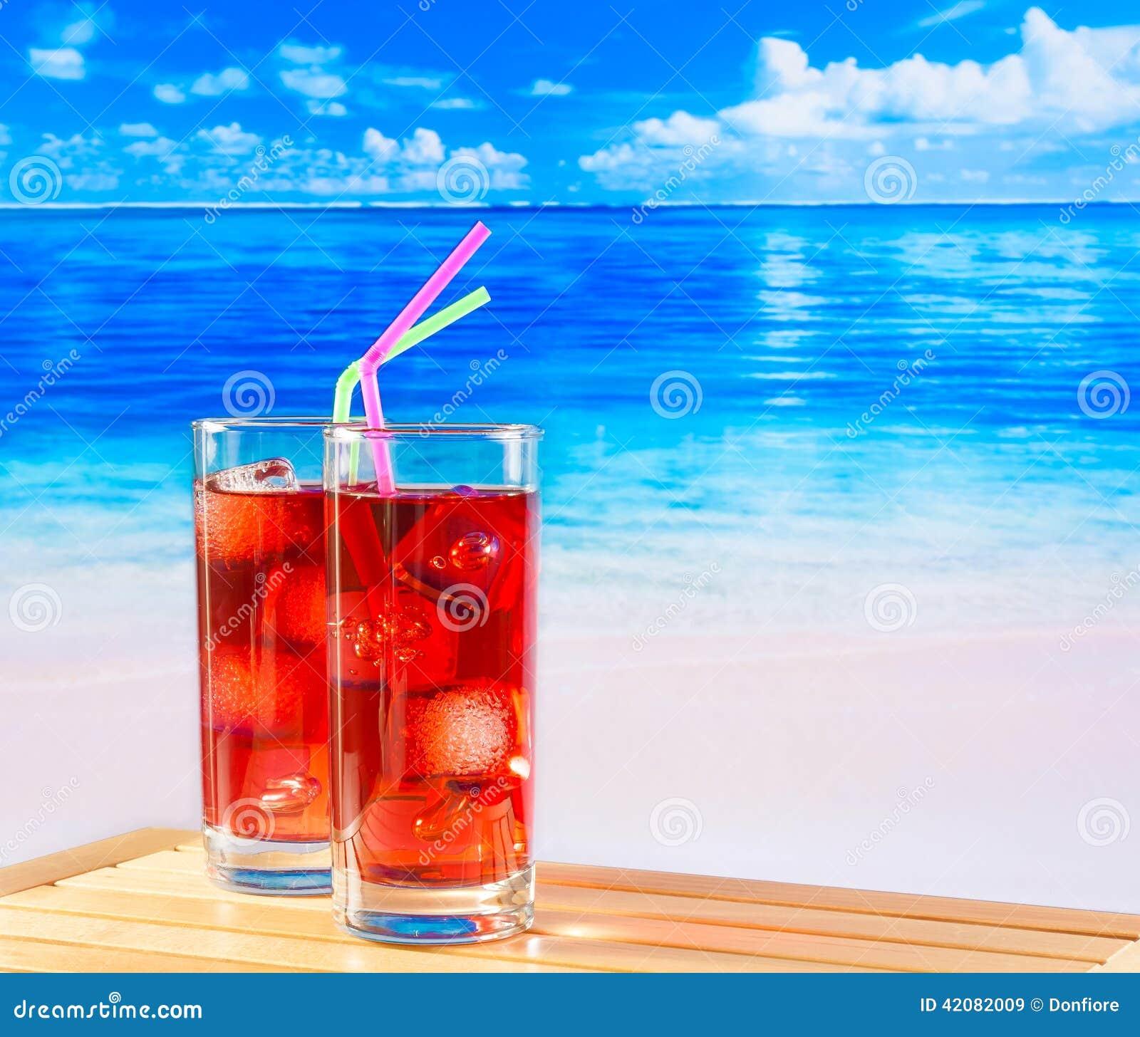 le sexe sur le cocktail de la plage Série sexe