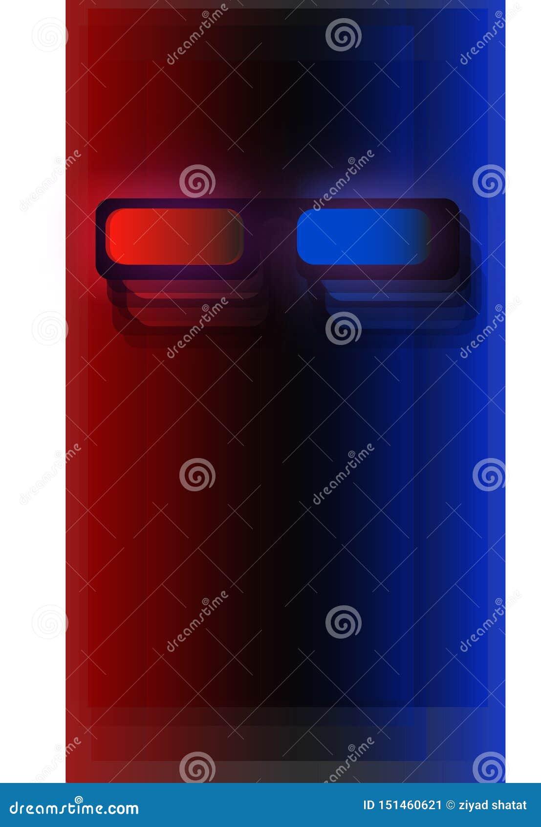 Verres mobiles du papier peint 3d