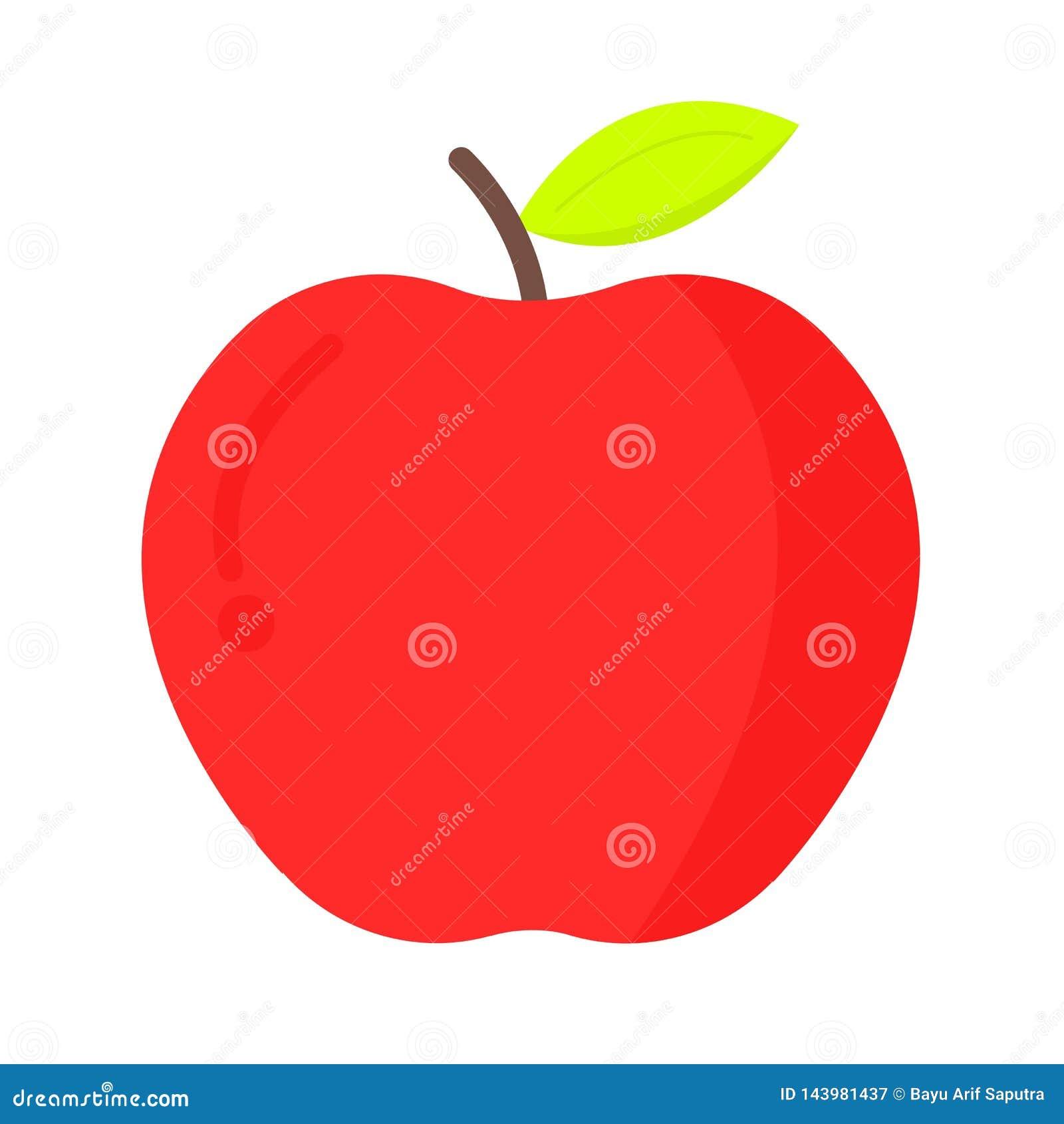 Vers appel vlak pictogram