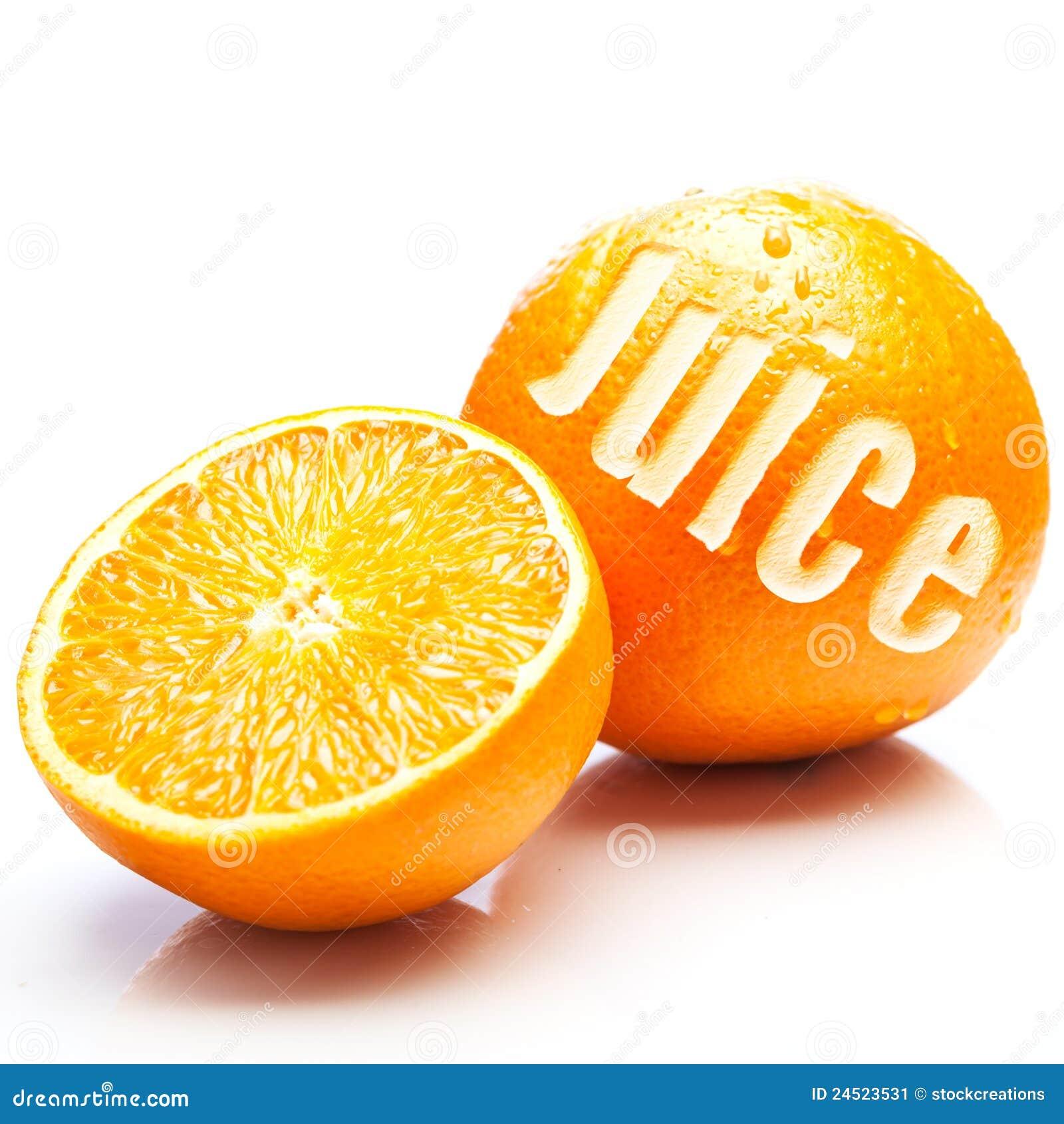 Vers fruitig jus d orange
