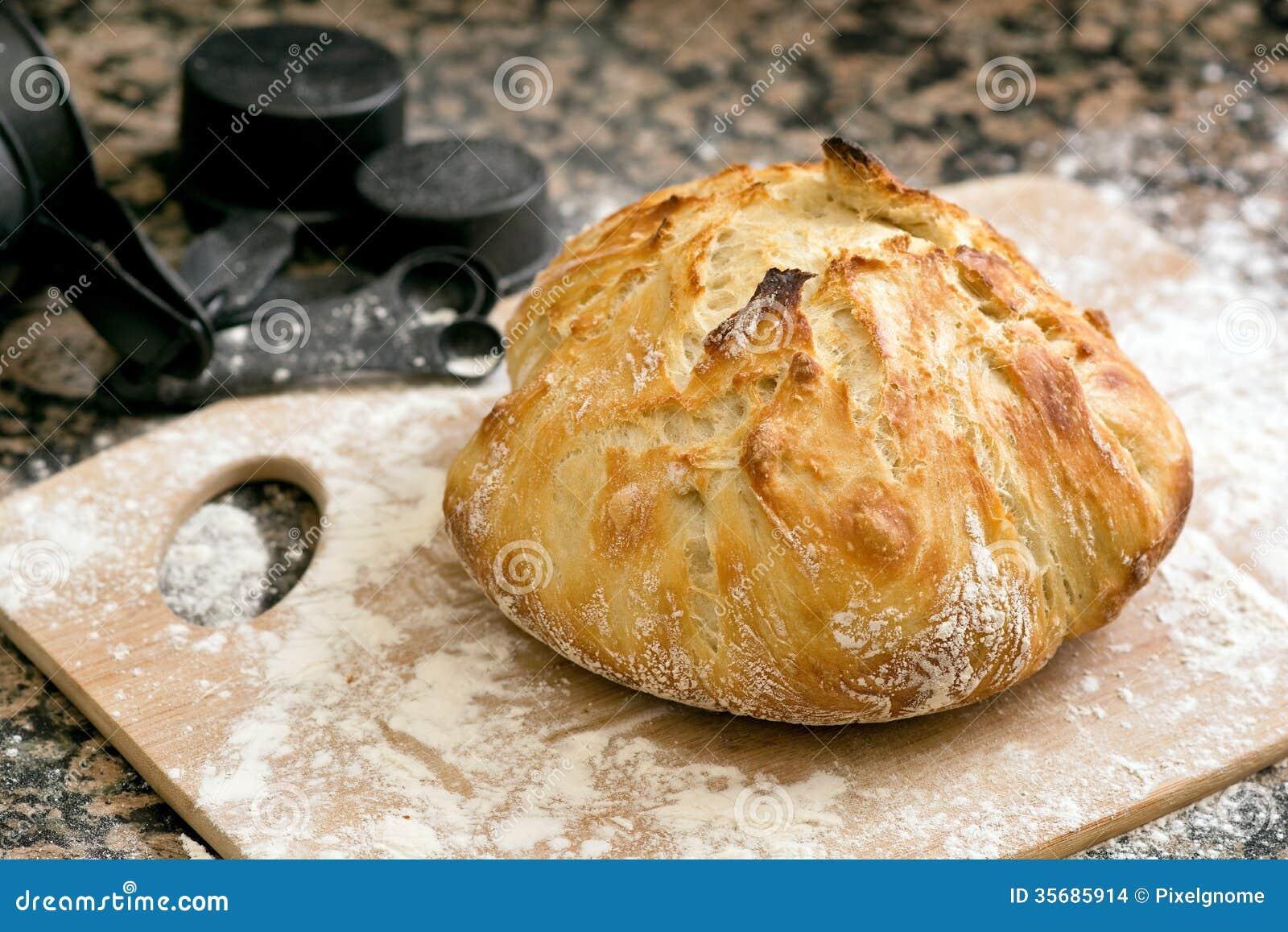 Vers gebakken artisanaal brood