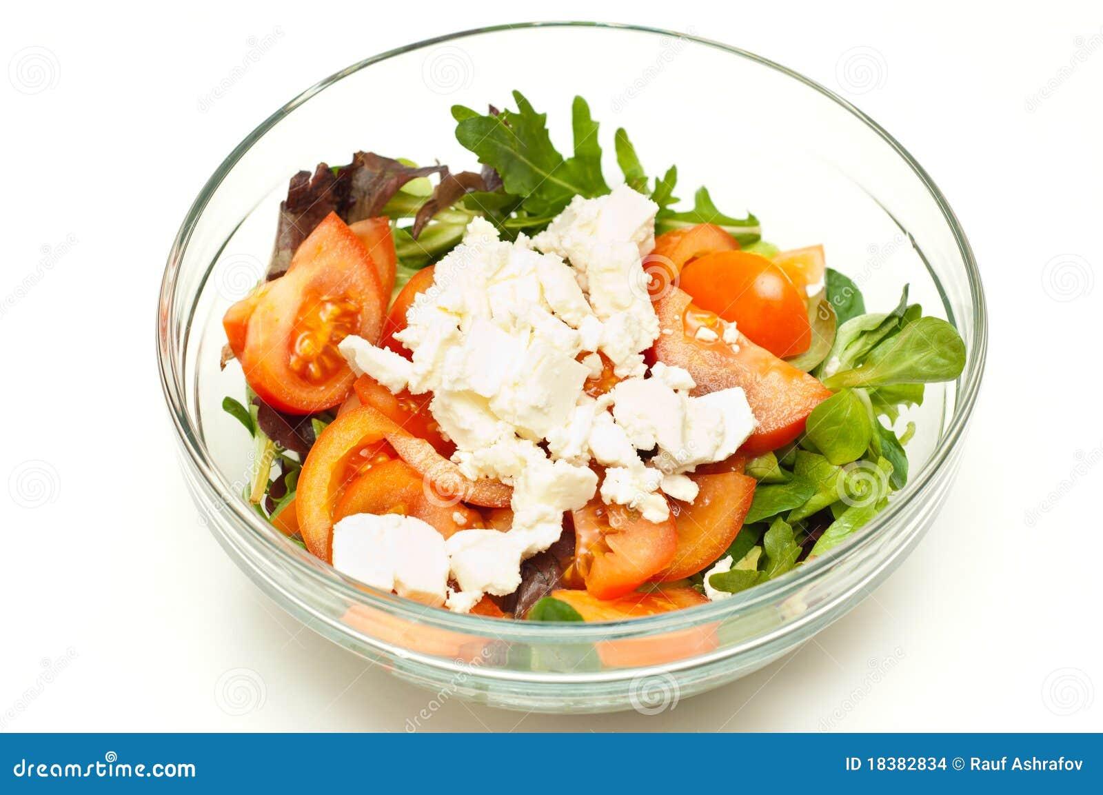 Vers gemaakte salade stock foto afbeelding bestaande uit for Vers des salades